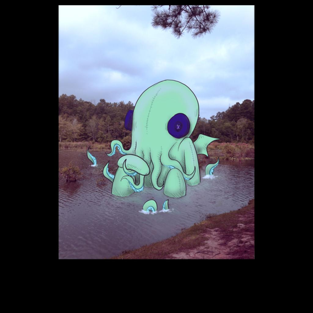 NeatoShop: Real Plushies: Cthulhu Lake