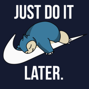 Qwertee: Just Do It Later