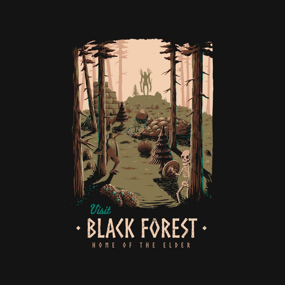 TeeFury: Black Forest