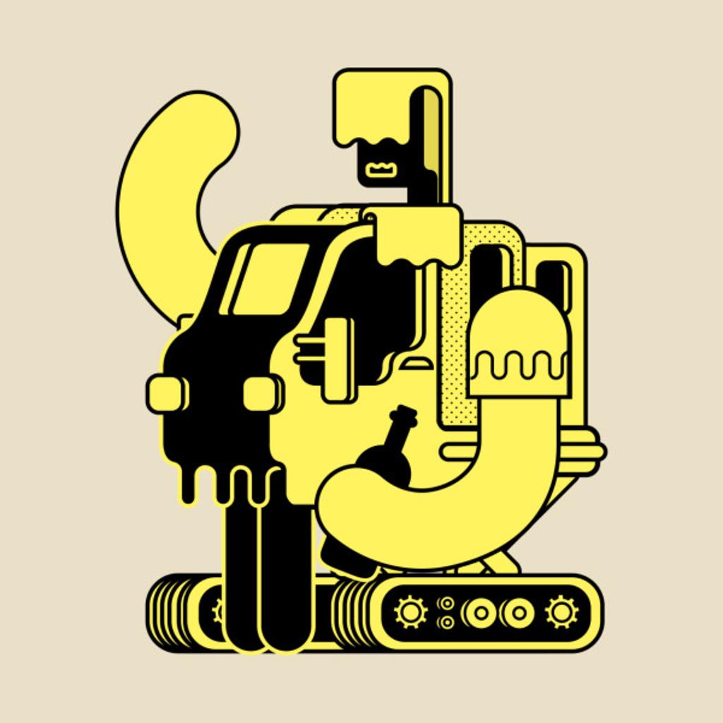 TeePublic: Drunker Bot