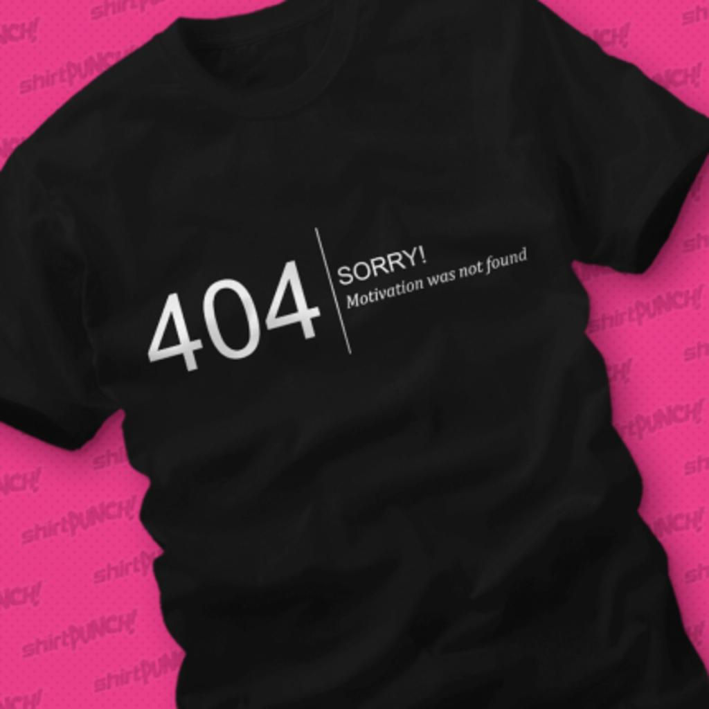 ShirtPunch: Error 404