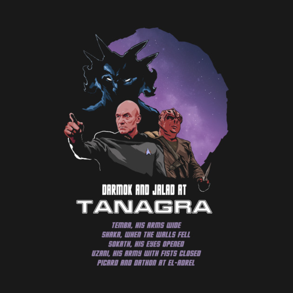 TeePublic: Darmok and Jalad at Tanagra