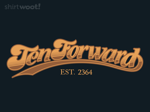Woot!: Ten Forward Logo Only - $7.00 + $5 standard shipping