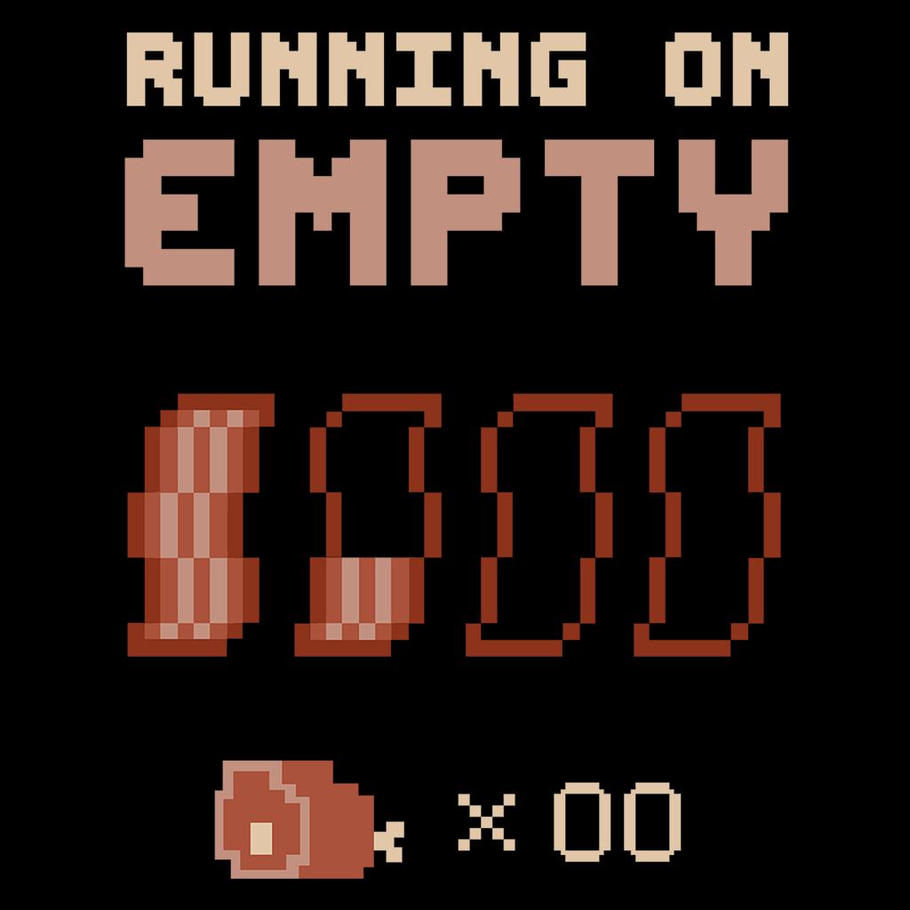 Pop-Up Tee: Running On Empty