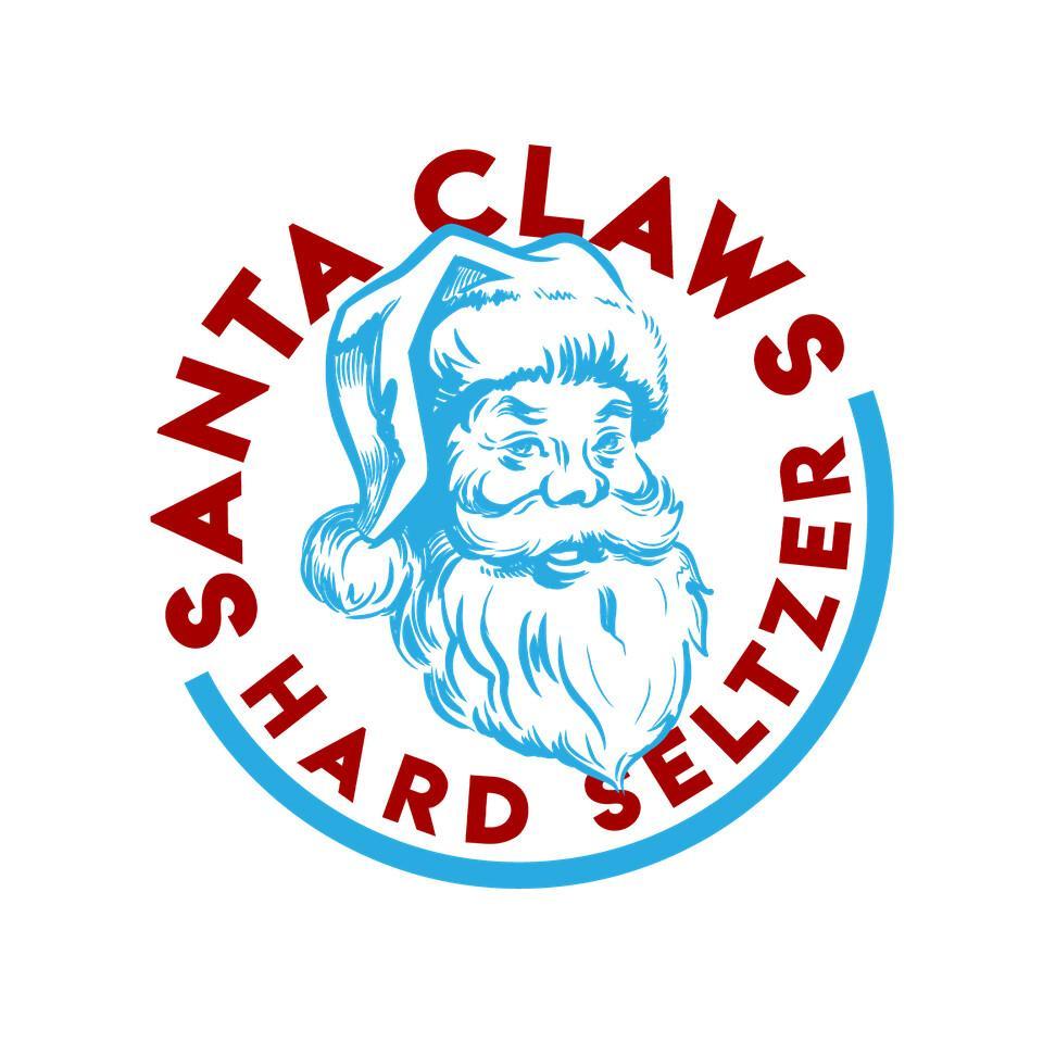 TeeFury: Santa Claws Hard Seltzer