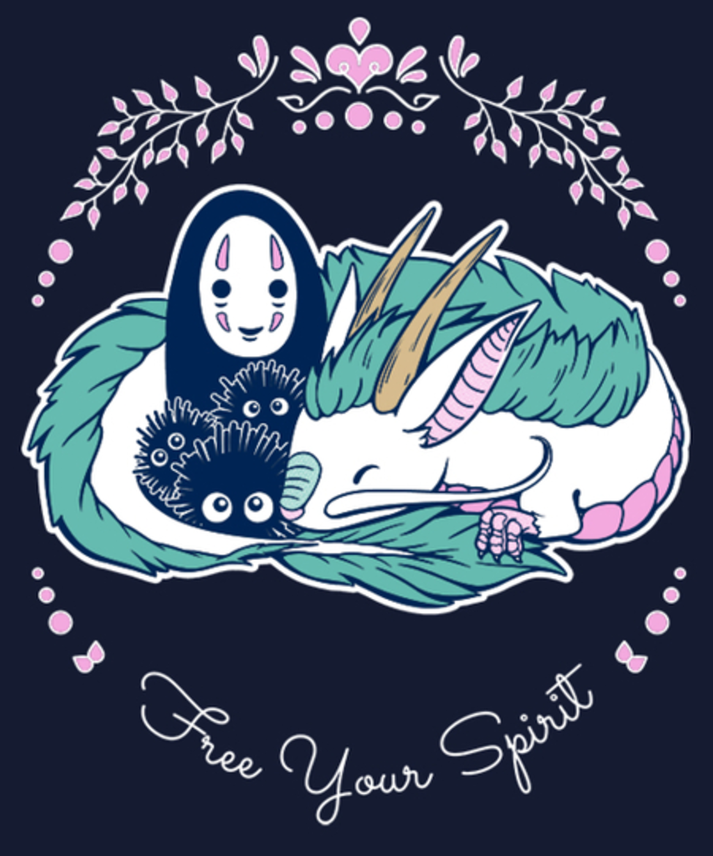 Qwertee: Free Your Spirit