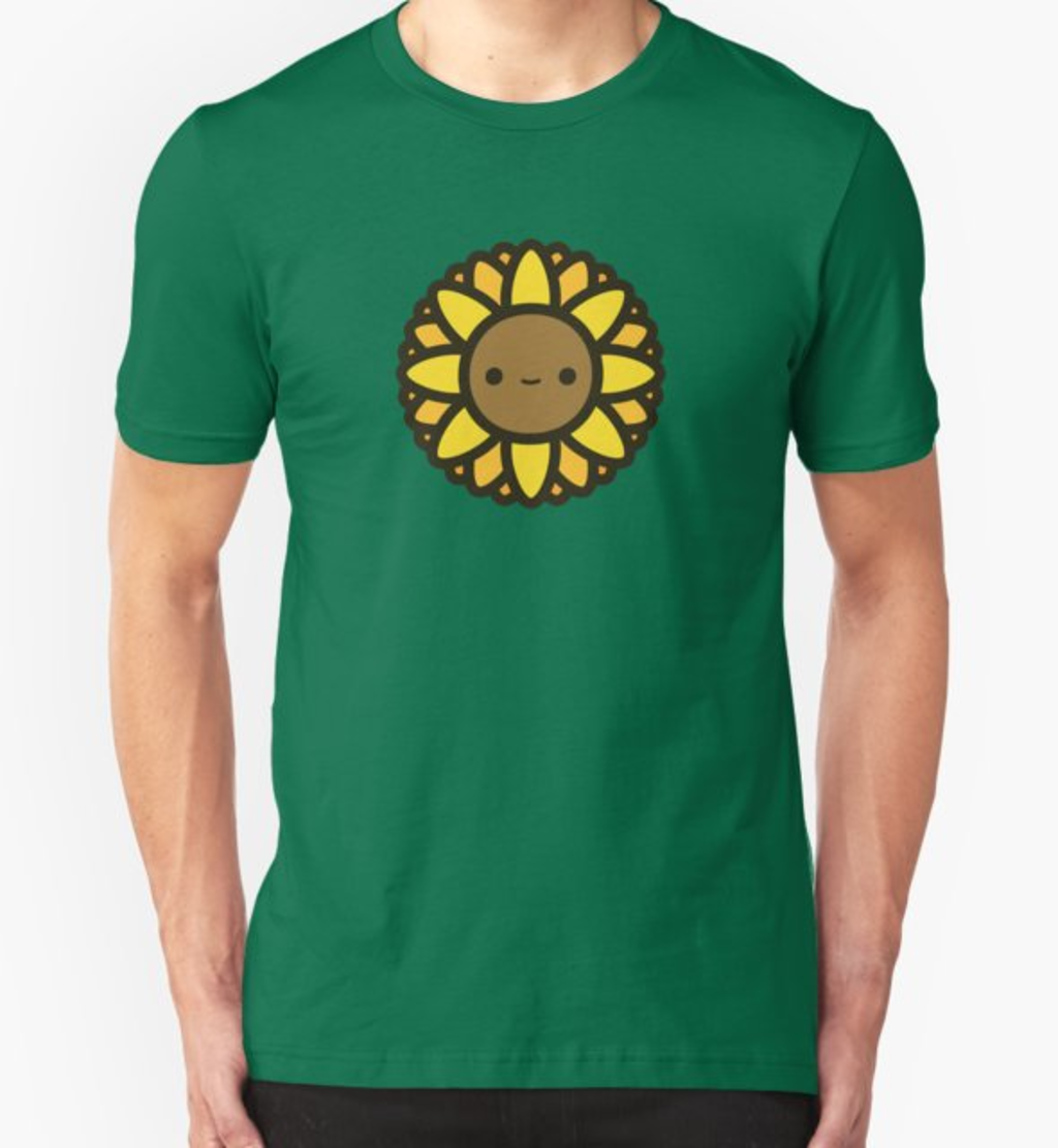 RedBubble: Cute sunflower