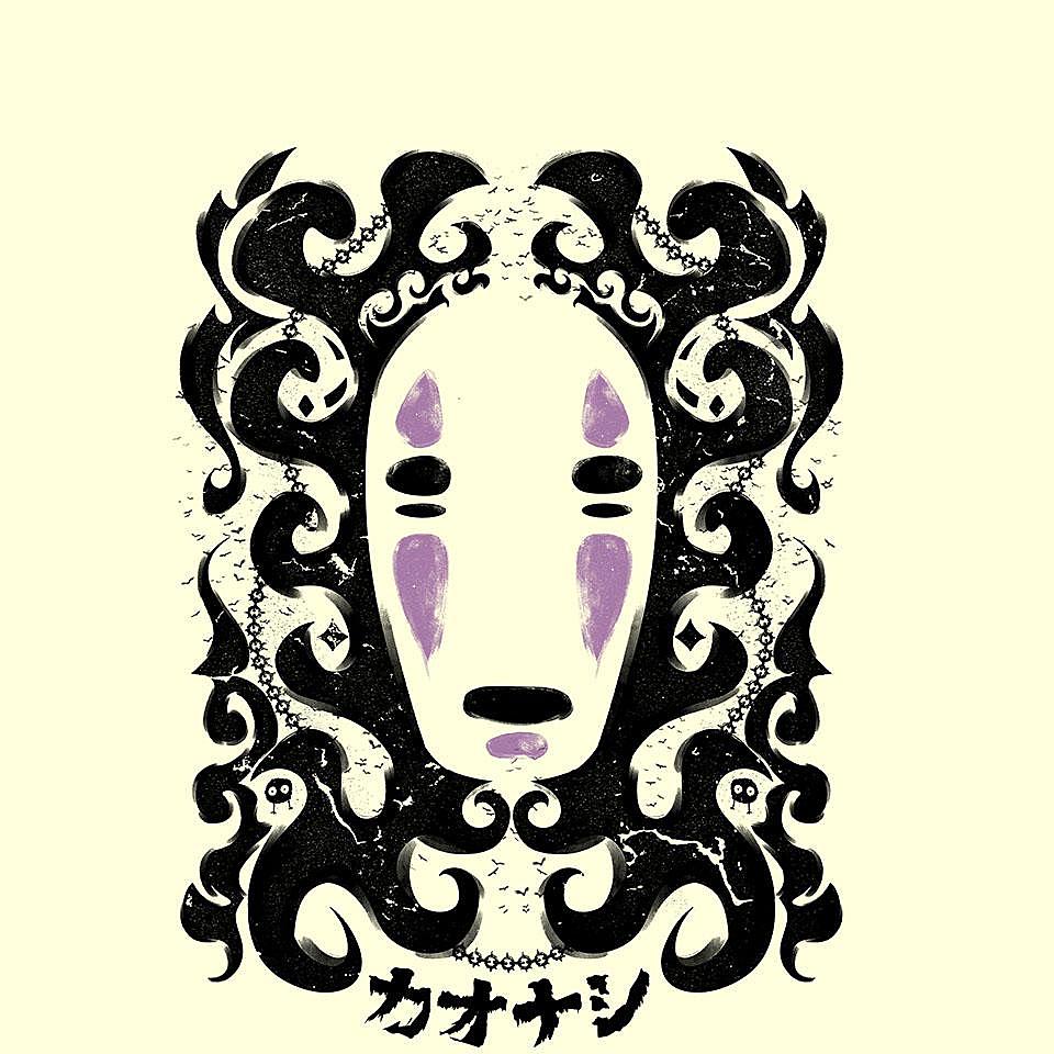 TeeFury: No Face Gothic