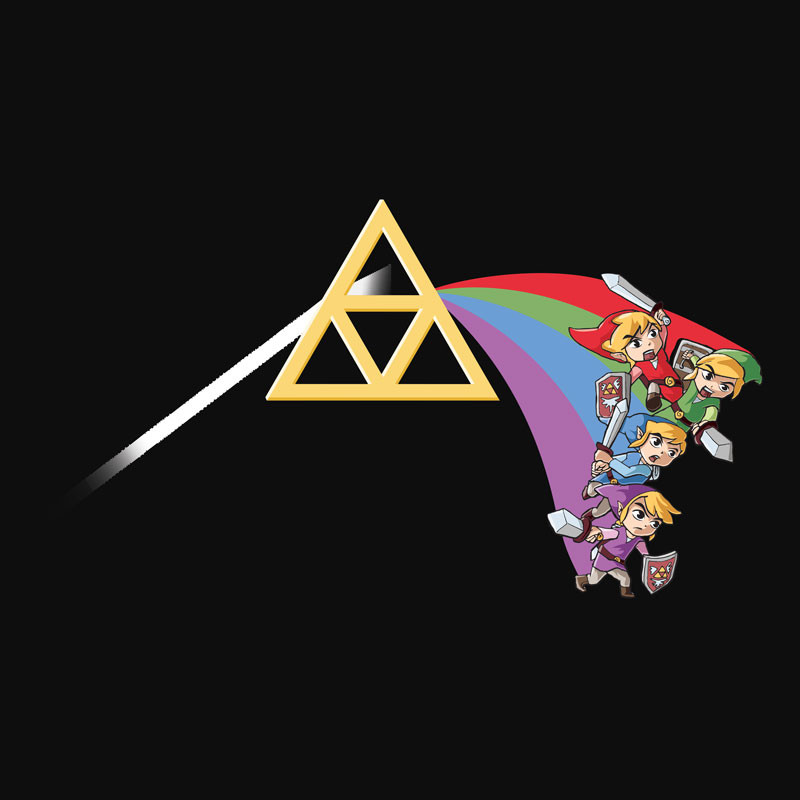Wear Viral: Dark Side of the Triforce
