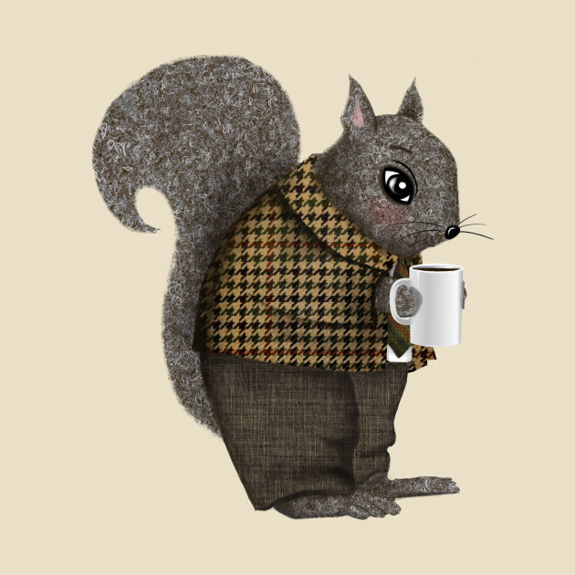 TeePublic: An Early Morning For Mister Squirrel