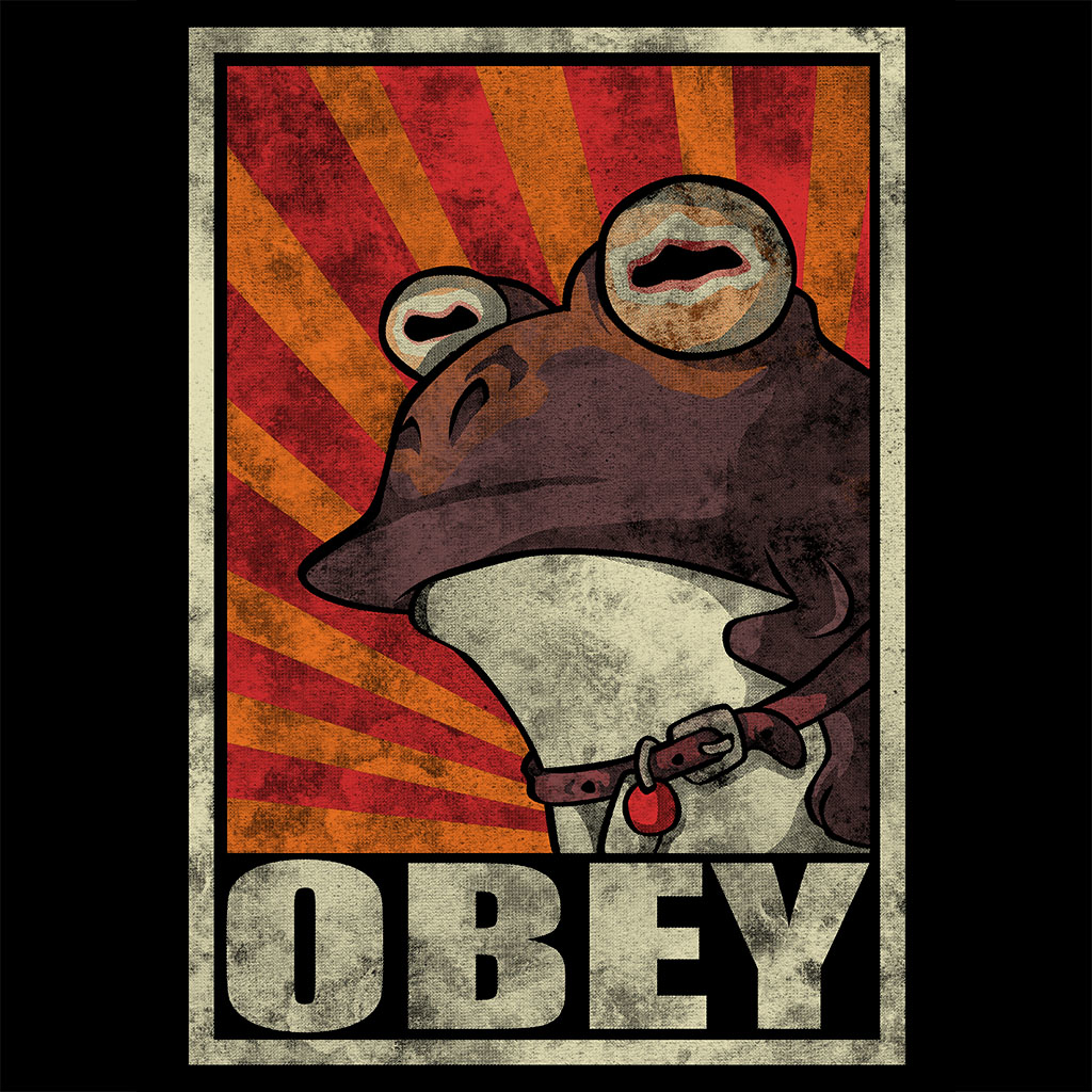 TeeTee: Obey The Hypnotoad!
