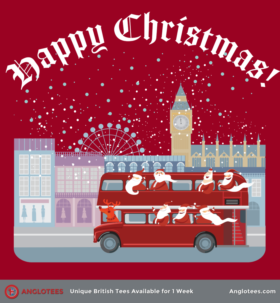 Anglotees: Cheeky Father Christmas