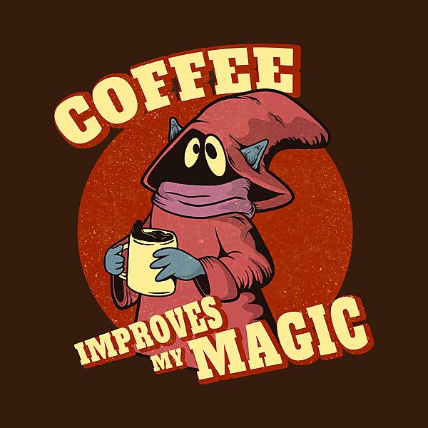 NeatoShop: Coffee improves my magic