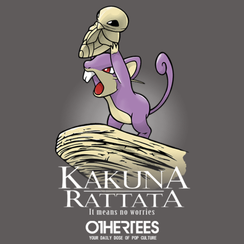 OtherTees: Kakuna Rattata