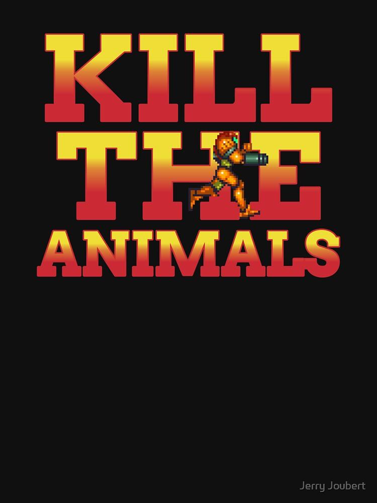 RedBubble: Kill The Animals Metroid