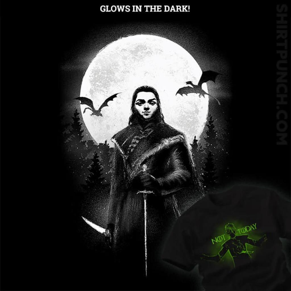 ShirtPunch: Glow In The Dark Arya