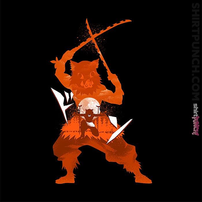 ShirtPunch: Inosuke Hashibira