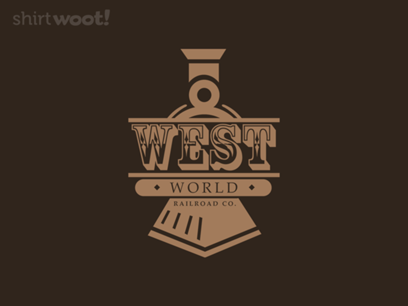 Woot!: West World Railroad - $8.00 + $5 standard shipping