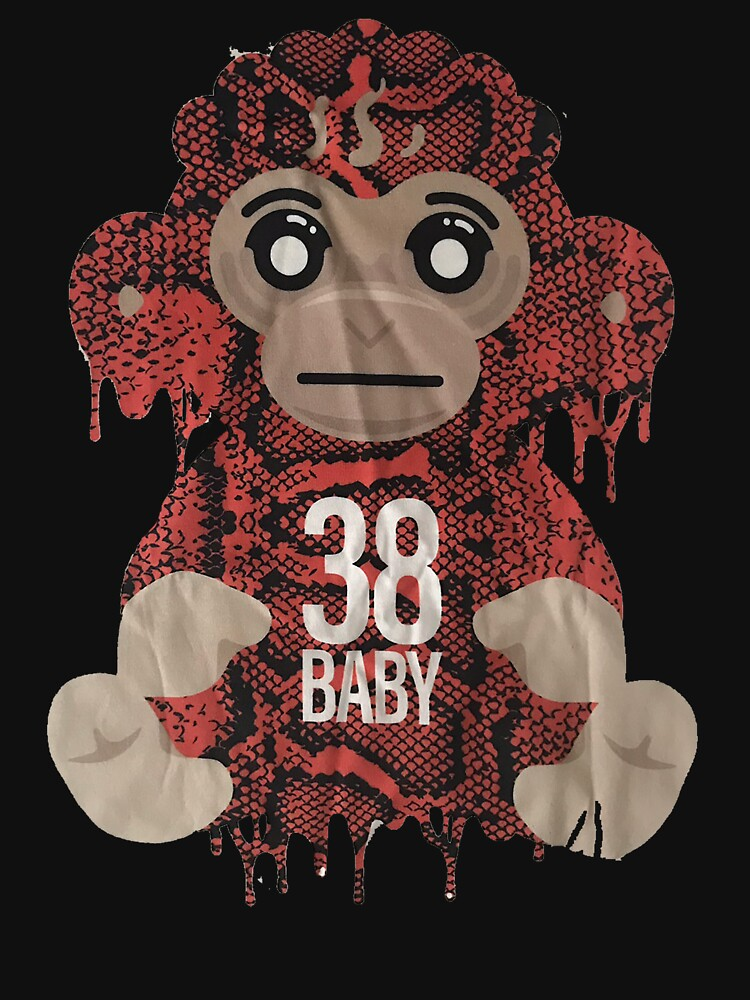 RedBubble: Youngboy Never Broke Again Colorful Monkey Gear, 38 Baby Merch NBA Classic T-Shirt