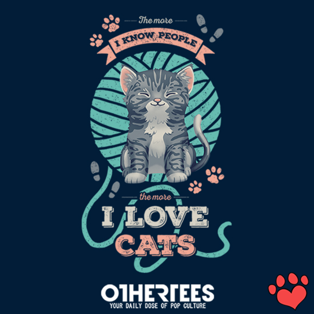 OtherTees: I Love Cats
