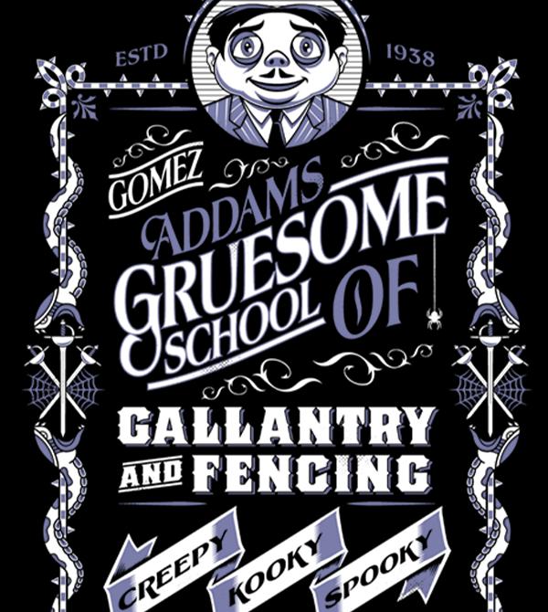 teeVillain: School of Gallantry