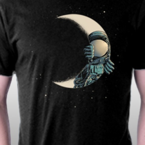 TeeFury: Crescent Moon