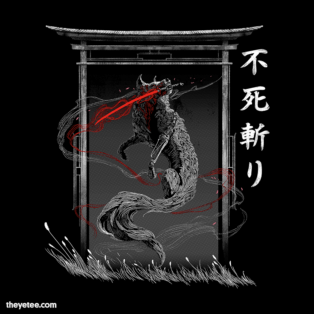 The Yetee: One Armed Wolf