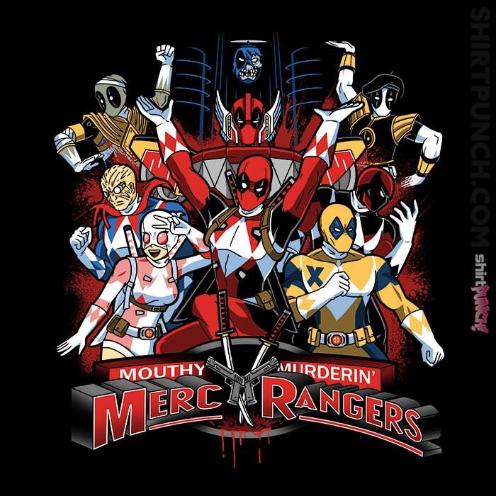 ShirtPunch: Merc Rangers