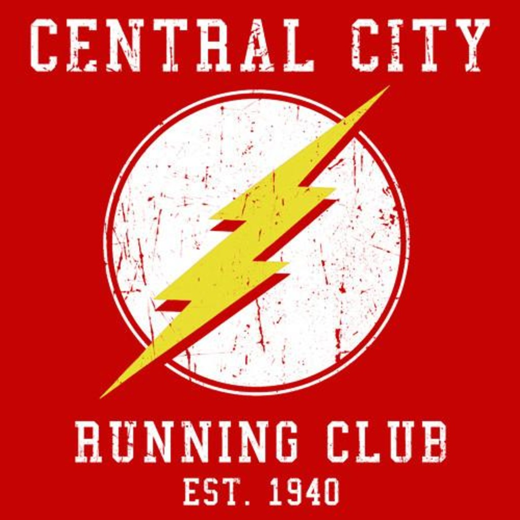 Textual Tees: Central City Running Club