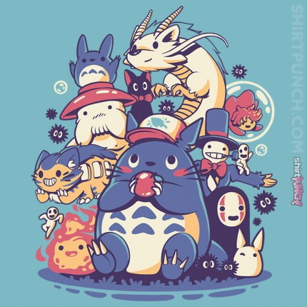 ShirtPunch: Creatures Friends And Spirits