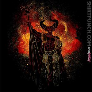 ShirtPunch: Lord Of Darkness Art