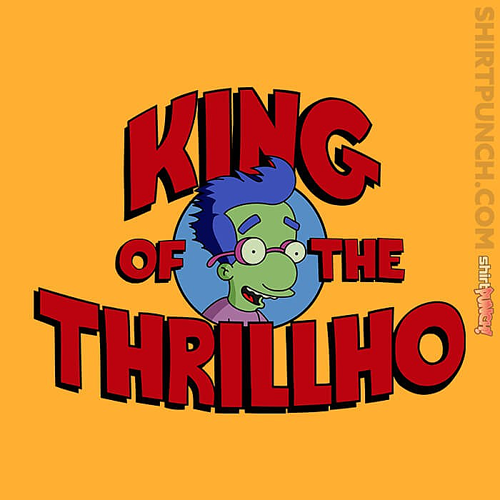ShirtPunch: King Of The Thrillho