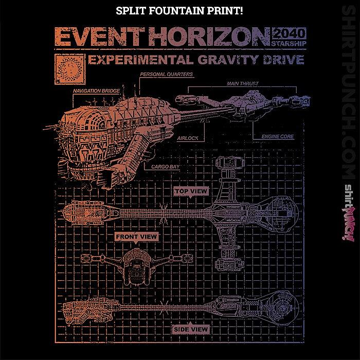 ShirtPunch: Event Horizon Specs Split Fountain