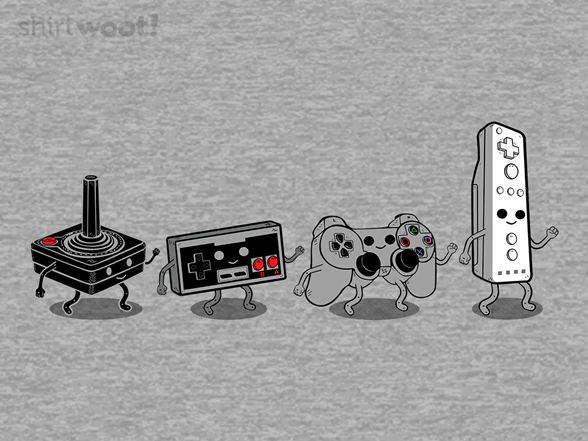 Woot!: Evolution of Control