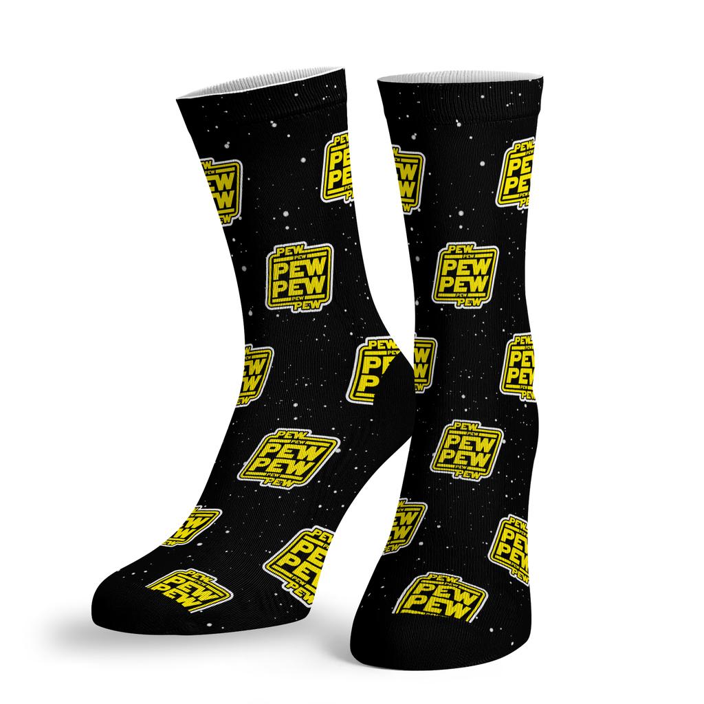 BustedTees: Pew Pew Socks
