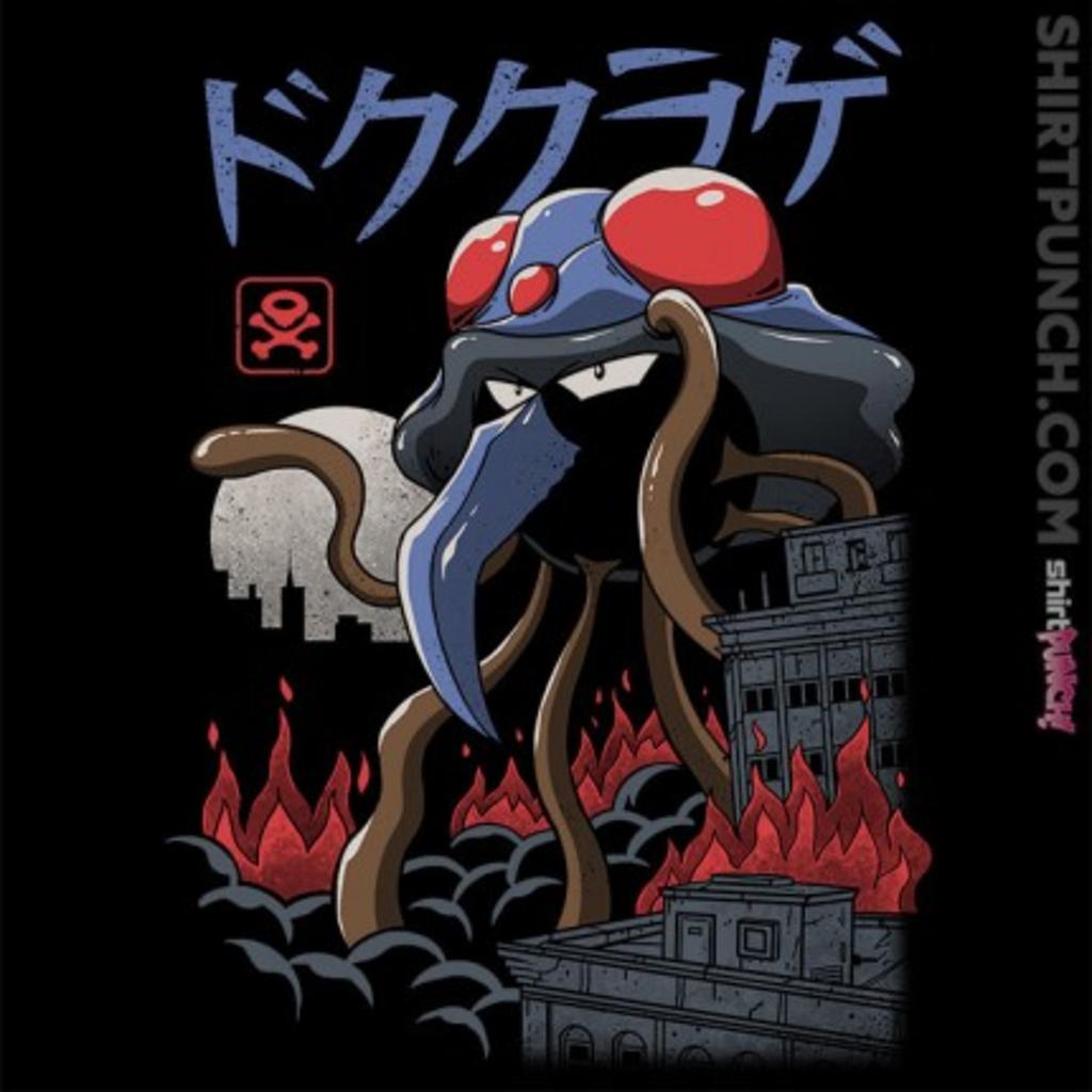ShirtPunch: Poison Kaiju