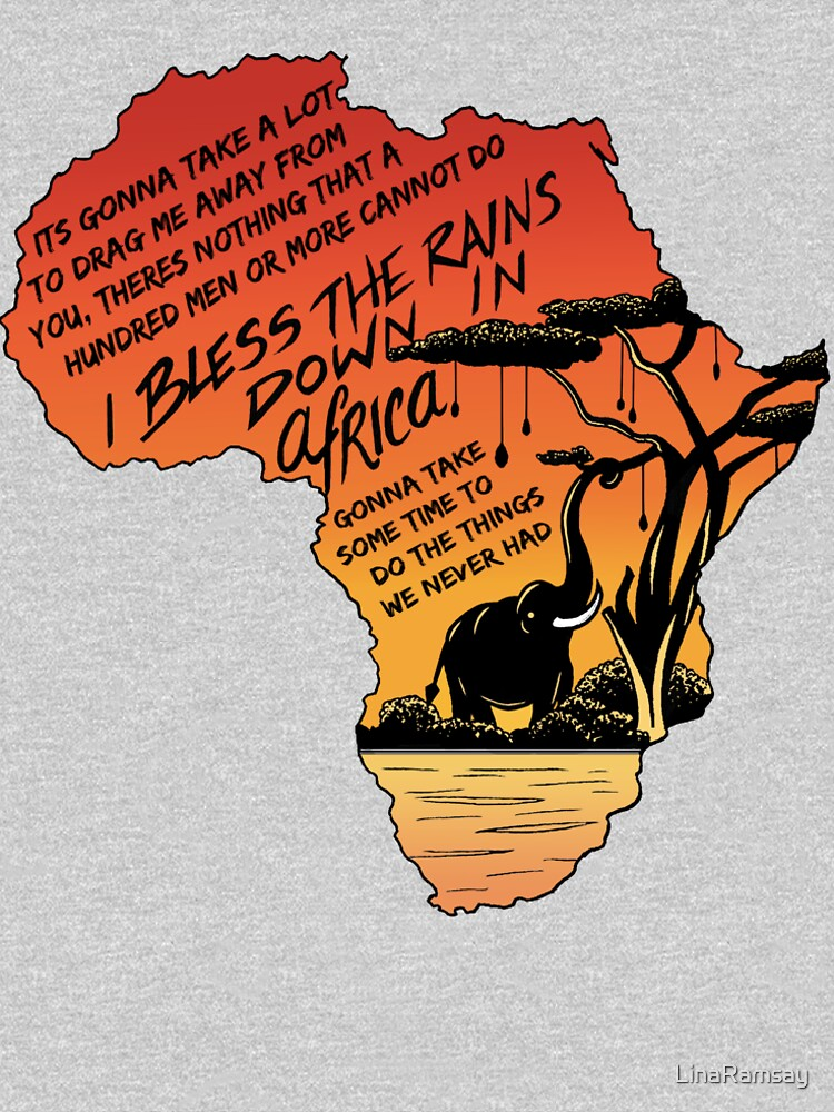 """RedBubble: """"Africa"""""""