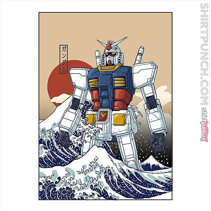 ShirtPunch: Gundam Kanagawa
