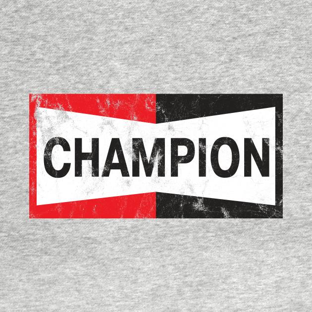 TeePublic: Champion Spark Plugs