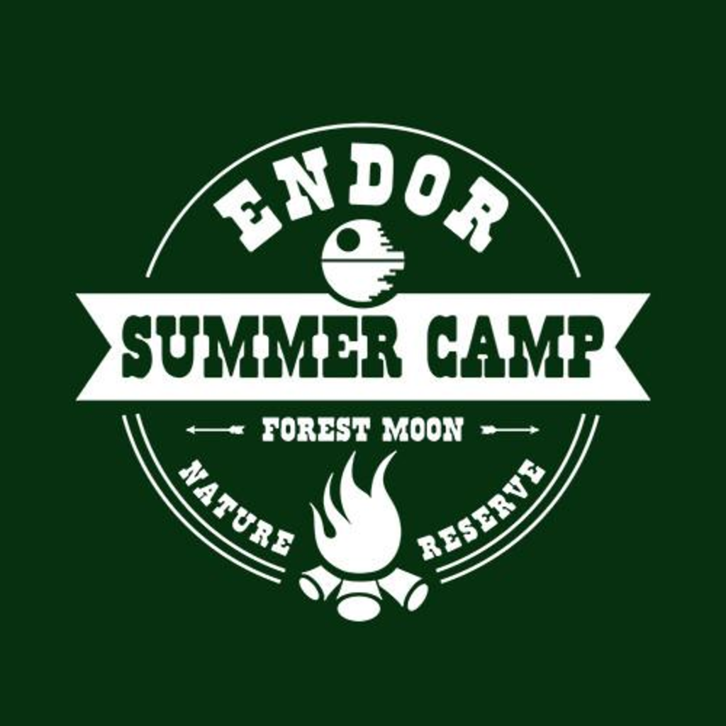 Five Finger Tees: Endor Summer Camp T-Shirt
