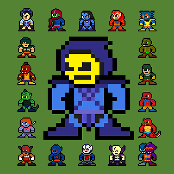 NeatoShop: 8-bit Evil Warriors