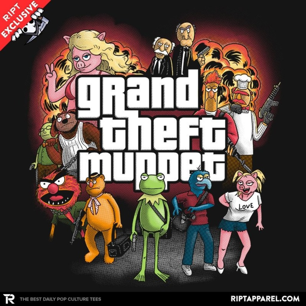 Ript: Grand Theft Muppet