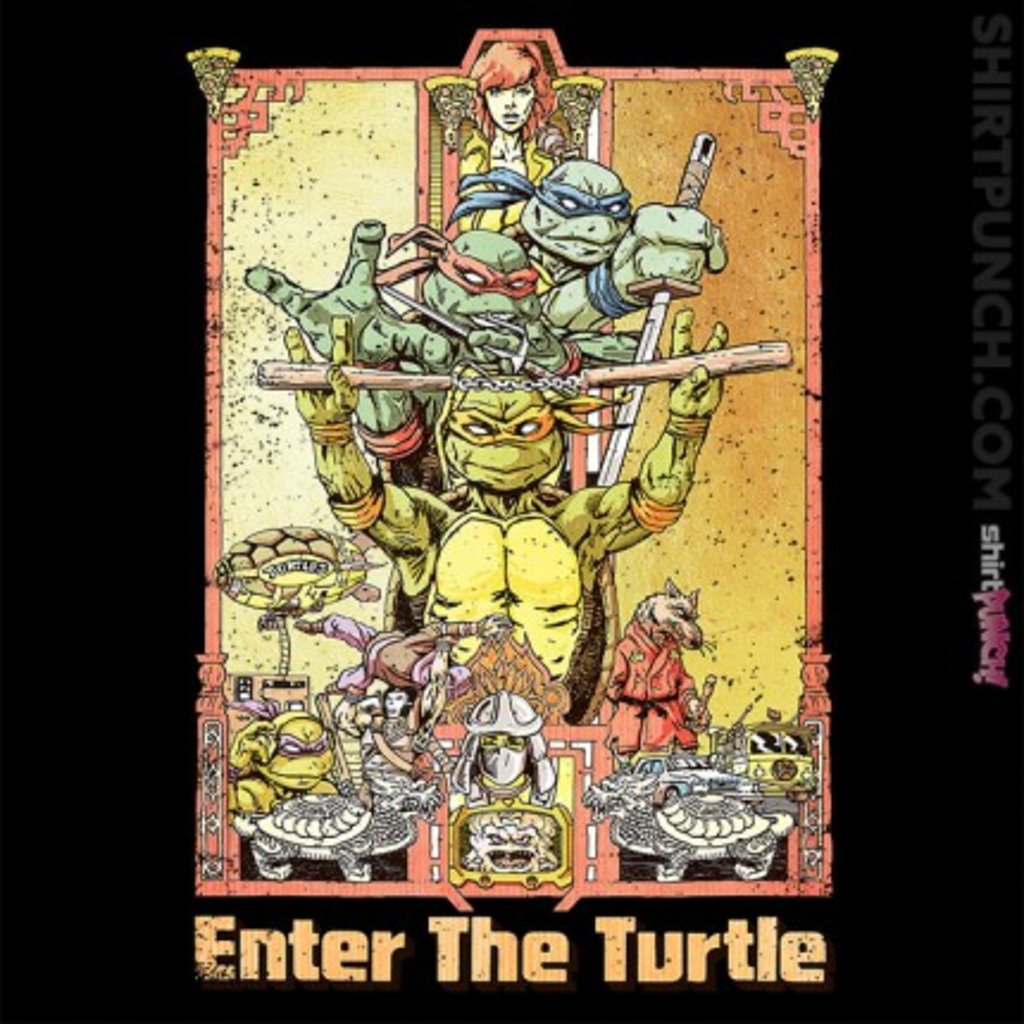 ShirtPunch: Enter The Turtle