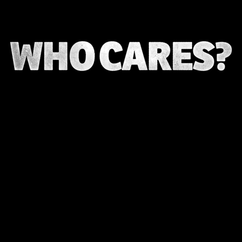 NeatoShop: Who Cares