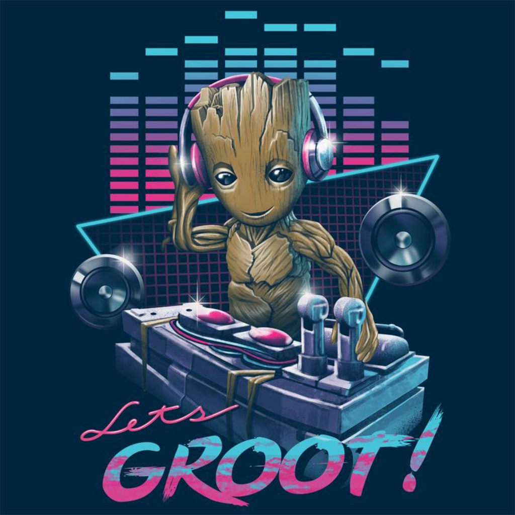 Curious Rebel: Let's Groot