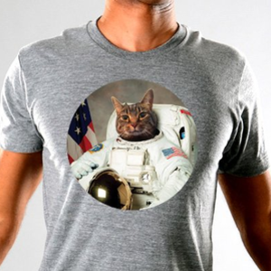 SnorgTees: Astrocat Limited Edition Tri-Blend