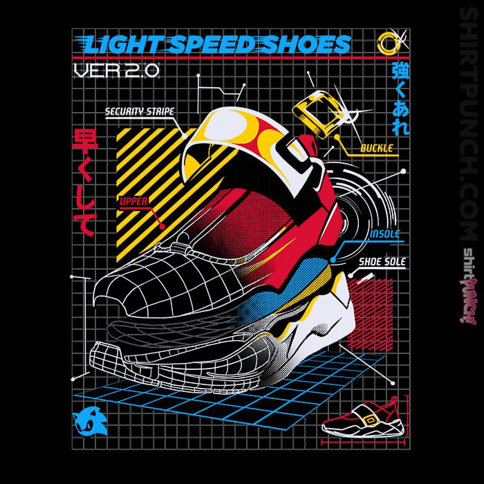 ShirtPunch: Light Speed Shoes