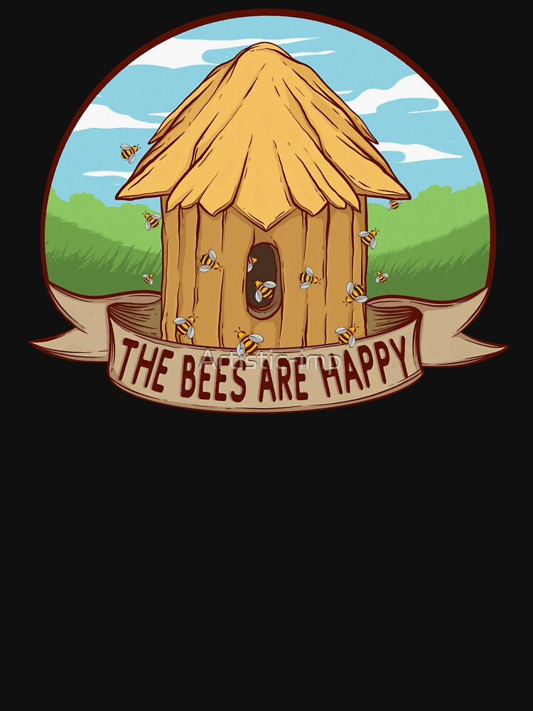 RedBubble: The Bees Are Happy