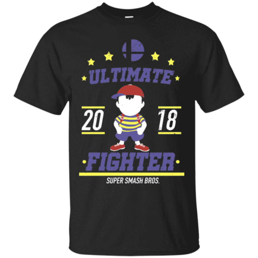 Pop-Up Tee: Ultimate Fighter Ness