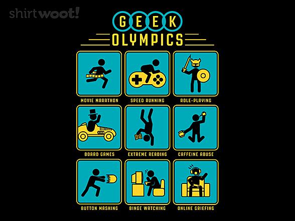 Woot!: Geek Olympics